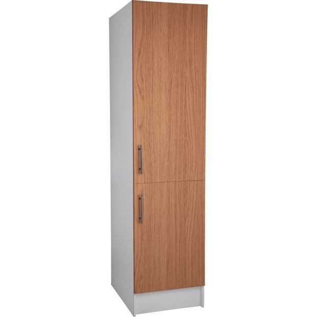 buy athina 500mm tall fitted kitchen unit oak wood On tall fitted kitchen unit