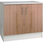 more details on Athina 1000mm Fitted Kitchen Base Unit - Oak Wood Effect.