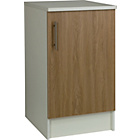 more details on Athina 500mm Fitted Kitchen Base Unit - Oak.