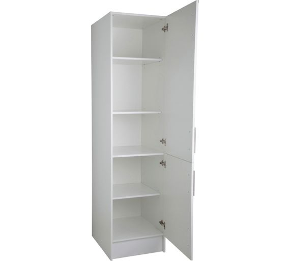 buy athina 500mm tall fitted kitchen unit white at argos