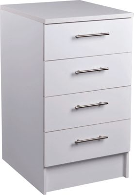 Buy wooden larder units at your online shop for Fitted kitchen drawer unit
