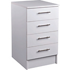 more details on Athina 500mm Fitted Kitchen Drawer Unit - White.