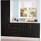 more details on Athina 3 Piece Fitted Kitchen Unit Package - Black.