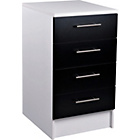 more details on Athina 500mm Fitted Kitchen Drawer Unit - Black.