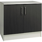 more details on Athina 1000mm Fitted Kitchen Base Unit - Black.