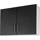 more details on Athina 1000mm Fitted Kitchen Wall Unit - Black.
