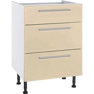 Kitchen units available from for Cream kitchen base units