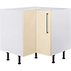 more details on Hygena Valencia 935mm Kitchen Corner Base Unit - Cream Gloss