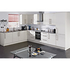 more details on Hygena Valencia 300mm Tall Kitchen Larder Unit - White Gloss