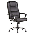 HOME Rectangular High Back Manager's Chair - Black