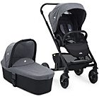 more details on Joie Chrome Basic Stroller and Carrycot.