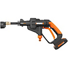 more details on Worx Cordless 20V Hydroshot Pressure Washer.