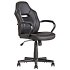 more details on Mid Back Office Gaming Chair - Black.