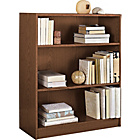 more details on HOME Maine Small Extra Deep Bookcase - Walnut Effect.