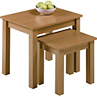 more details on Argos Value Range Nest of Tables - Oak Effect.