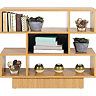 more details on Cubes Shelving Unit - Oak Effect.