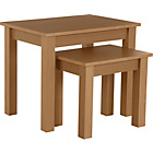 more details on Nest of 2 Tables - Beech Effect.