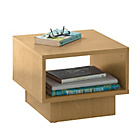 more details on HOME Cubes 1 Shelf End Table - Beech Effect.