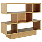 more details on Cubes Shelving Unit - Beech Effect.