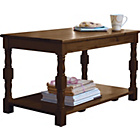 more details on HOME Devon Coffee Table - Solid Pine with Walnut Effect.