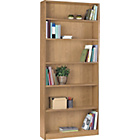 more details on HOME Maine Tall Wide Bookcase - Oak Effect.