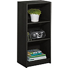 more details on Maine Half Width Small Extra Deep Bookcase - Black Ash.