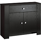 more details on Brisbane 2 Door Sideboard - Black Ash Wood Effect.