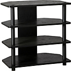 more details on HOME Verona Corner TV Unit - Black.