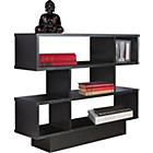 more details on Cubes Effect Shelving Unit - Black Ash Wood.