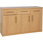 more details on Anderson 3 Door and 3 Drawer Sideboard - Oak Effect.