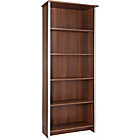 more details on Genova Tall Bookcase - Walnut Effect.
