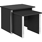 more details on Genova Nest of 2 Tables - Black.