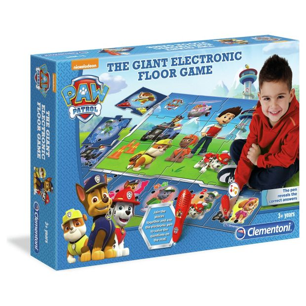 buy clementoni paw patrol interactive mat at. Black Bedroom Furniture Sets. Home Design Ideas