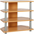more details on HOME Verona Corner TV Unit - Beech Effect.