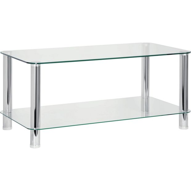 Glass Coffee Tables Argos: Buy HOME Matrix Coffee Table