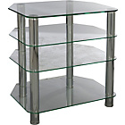 more details on Hygena Matrix Small TV Unit - Clear Glass.