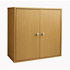 more details on Boston Basic 2 Door Modular Box - Beech Effect.
