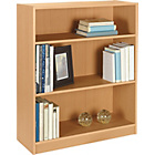 more details on HOME Maine Small Extra Deep Bookcase - Beech Effect.