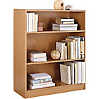 more details on HOME Maine Small Extra Deep Bookcase - Oak Effect.