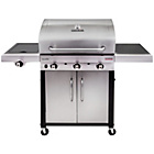 more details on Charbroil 3 Burner Tru Ired Stainless Steel Gas BBQ.