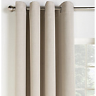 more details on Collection Linen Look Blackout Curtains - 117x137cm - Stone.