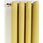 more details on Collection Linen Look Blackout Curtains - 117x137cm - Ochre.