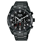 more details on Pulsar Men's Black Ion Plated Chronograph Watch.