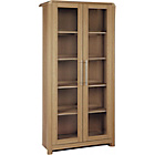 more details on Hygena Strand Full Display Cabinet - Oak Effect.