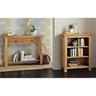 more details on Kensington Small Bookcase - Oak.