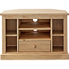 more details on Harrington Corner TV Entertainment Unit - Light Solid Pine.