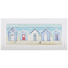 more details on Collection Beach Huts Framed Print.
