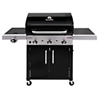 more details on Charbroil 3 Burner Tru Infrared Gas Barbecue and Cover.