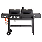 more details on Dual Fuel Charcoal and Gas Combo Grill.