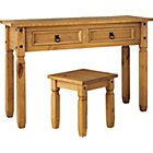 more details on Collection  Puerto Rico Dressing Table and Stool -Pine.
